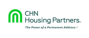 Logo of CHN Housing Partners with link to chnhousingpartners.org