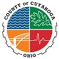 Logo for Cuyahoga County with link to website