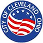 logo for city of Cleveland with link to website